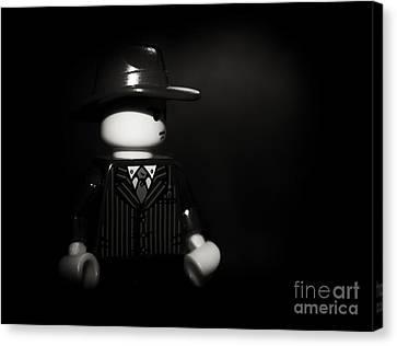 Lego Film Noir 1 Canvas Print by Cinema Photography