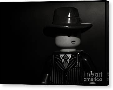 Lego Film Noir II Canvas Print by Cinema Photography