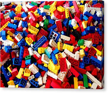 Lego - From 4 To 99 Canvas Print