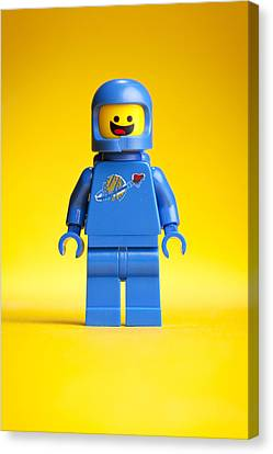 Lego Movie Benny Canvas Print