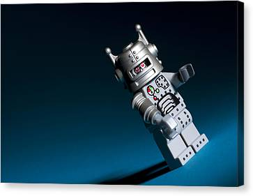 Lego Robot Canvas Print by Samuel Whitton