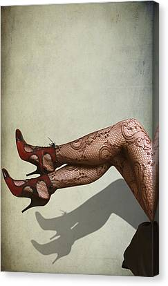 Legs Canvas Print by Svetlana Sewell