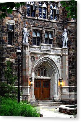Lehigh University Bethlehem Packard Laboratory Canvas Print by Jacqueline M Lewis