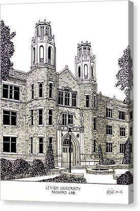 Lehigh University Canvas Print by Frederic Kohli
