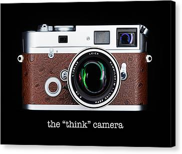 Leica M7 Canvas Print by Dave Bowman