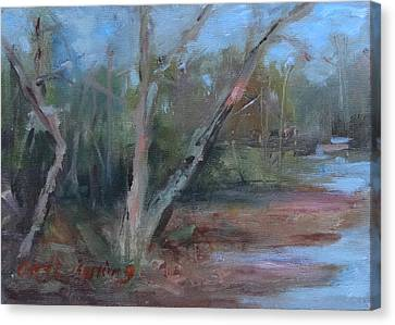 Leiper's Creek Study Canvas Print by Carol Berning