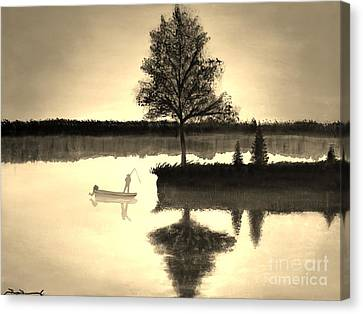 Leisure Time Canvas Print by Tim Townsend
