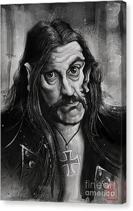 Lemmy Canvas Print by Andre Koekemoer