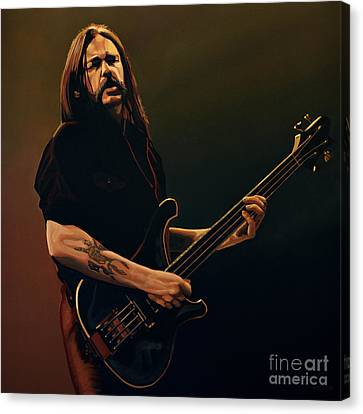 Slash Canvas Print - Lemmy Kilmister Painting by Paul Meijering