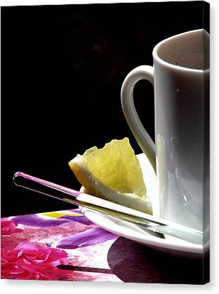 Lemon Please Canvas Print by Angela Davies
