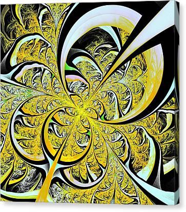 Lemon Twist Canvas Print by Anastasiya Malakhova