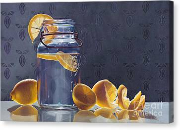 Lemonade Canvas Print by Arlene Steinberg