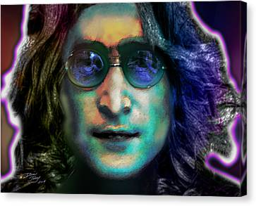 Haunting Lennon  Canvas Print by Dan Terry