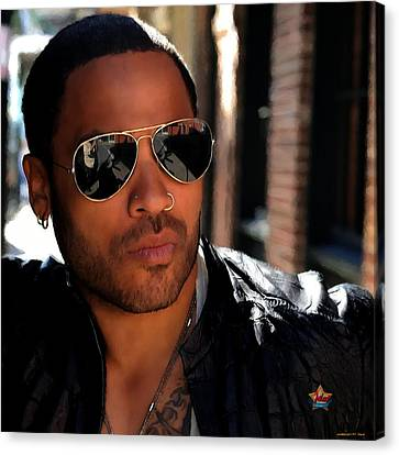Lenny Kravitz Canvas Print