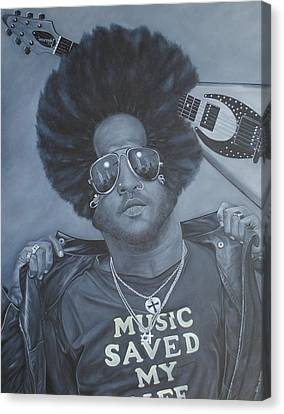 Lenny Kravitz 'mr Cool' Canvas Print