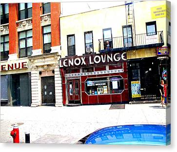 Lenox Lounge Harlem 2005 Canvas Print