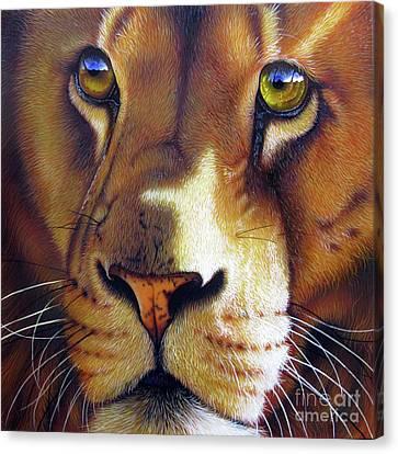LEO Canvas Print by Jurek Zamoyski