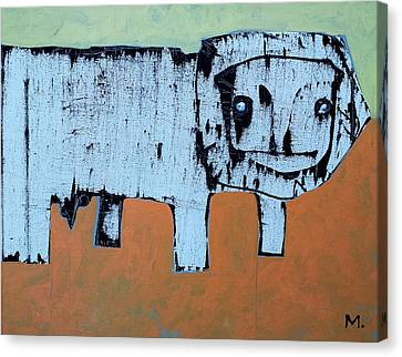 LEO Canvas Print by Mark M  Mellon