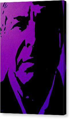 Warhol Canvas Print - Leonard Cohen by John  Nolan
