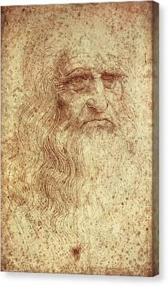 Leonardo Da Vinci 1452-1519 Canvas Print by Everett