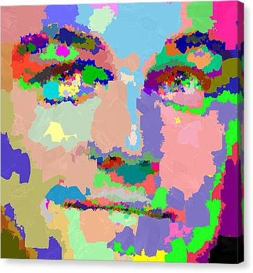 Leonardo Dicaprio - Abstract 01 Canvas Print
