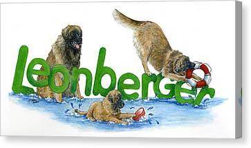 Leonberger Canvas Print