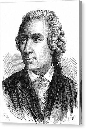 Leonhard Euler Canvas Print by Collection Abecasis