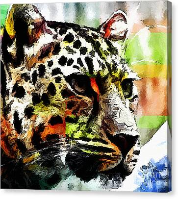 Leopard - Leopardo Canvas Print