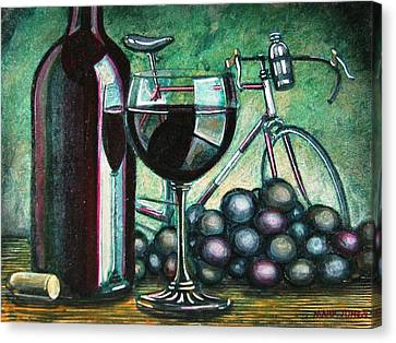 Canvas Print featuring the painting L'eroica Still Life by Mark Howard Jones