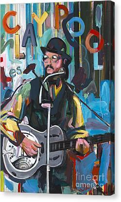 Les Claypool Canvas Print by David Oppenheimer