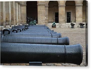 Les Invalides - Paris France - 011312 Canvas Print by DC Photographer