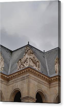 Early Canvas Print - Les Invalides - Paris France - 011314 by DC Photographer