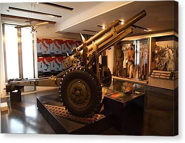Army Canvas Print - Les Invalides - Paris France - 011348 by DC Photographer