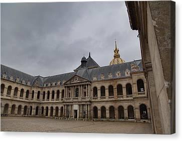 Les Invalides - Paris France - 01139 Canvas Print by DC Photographer