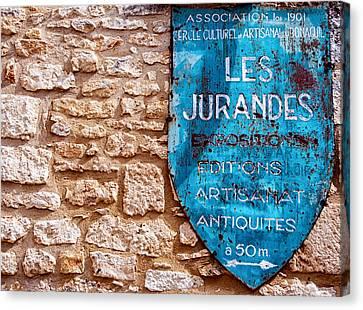 Les Jurandes Bonaguil Canvas Print by Georgia Fowler