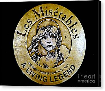Les Miserables Canvas Print by Ed Weidman