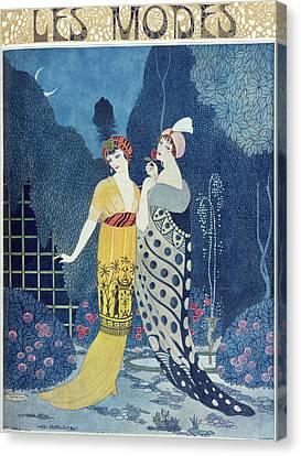 Les Modes Canvas Print by Georges Barbier