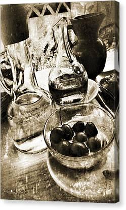 Les Olives Canvas Print by Selke Boris