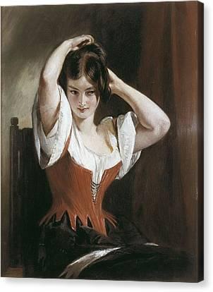 1616 Canvas Print - Leslie, Charles Robert 1794-1859 by Everett