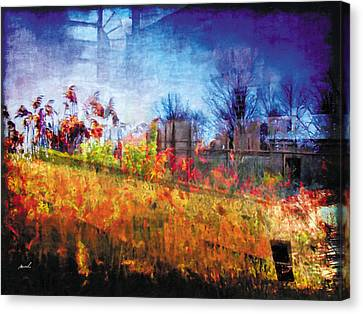 Canvas Print featuring the photograph Less Travelled 36 by The Art of Marsha Charlebois