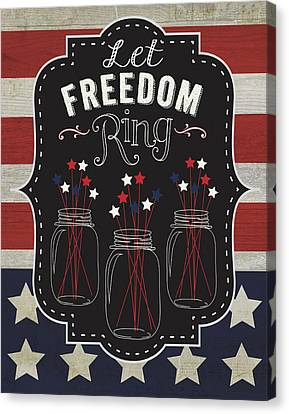 Let Freedom Canvas Print by Tammy Apple