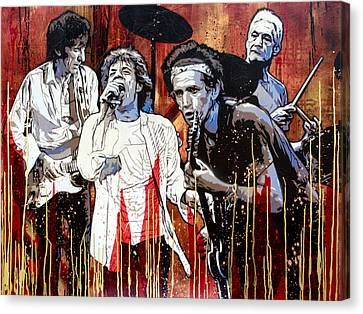 Let It Bleed Canvas Print by Bobby Zeik