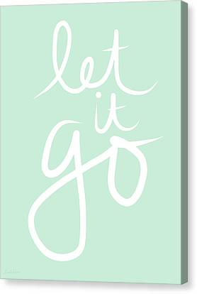 Let It Go Canvas Print by Linda Woods