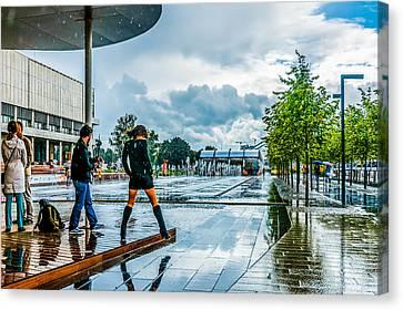 Let It Rain Canvas Print by Alexander Senin