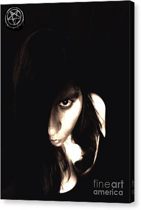 Canvas Print featuring the photograph Let The Darkness Take Me by Vicki Spindler