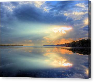 Storm Canvas Print - Let There Be Light by JC Findley