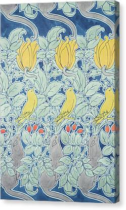 Let Us Prey Wallpaper Canvas Print by Charles Francis Annesley Voysey