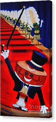 Let Your Inner Ham Shine Or My Hammy And The Picklettes Canvas Print