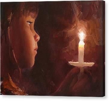 Let Your Light Shine 1 Canvas Print