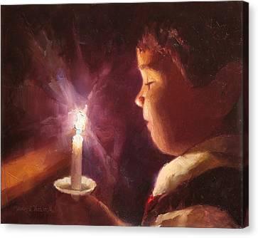Let Your Light Shine 2 Canvas Print